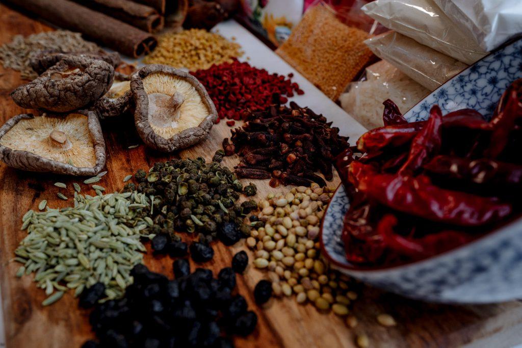 Spices, vietnamese cookery school