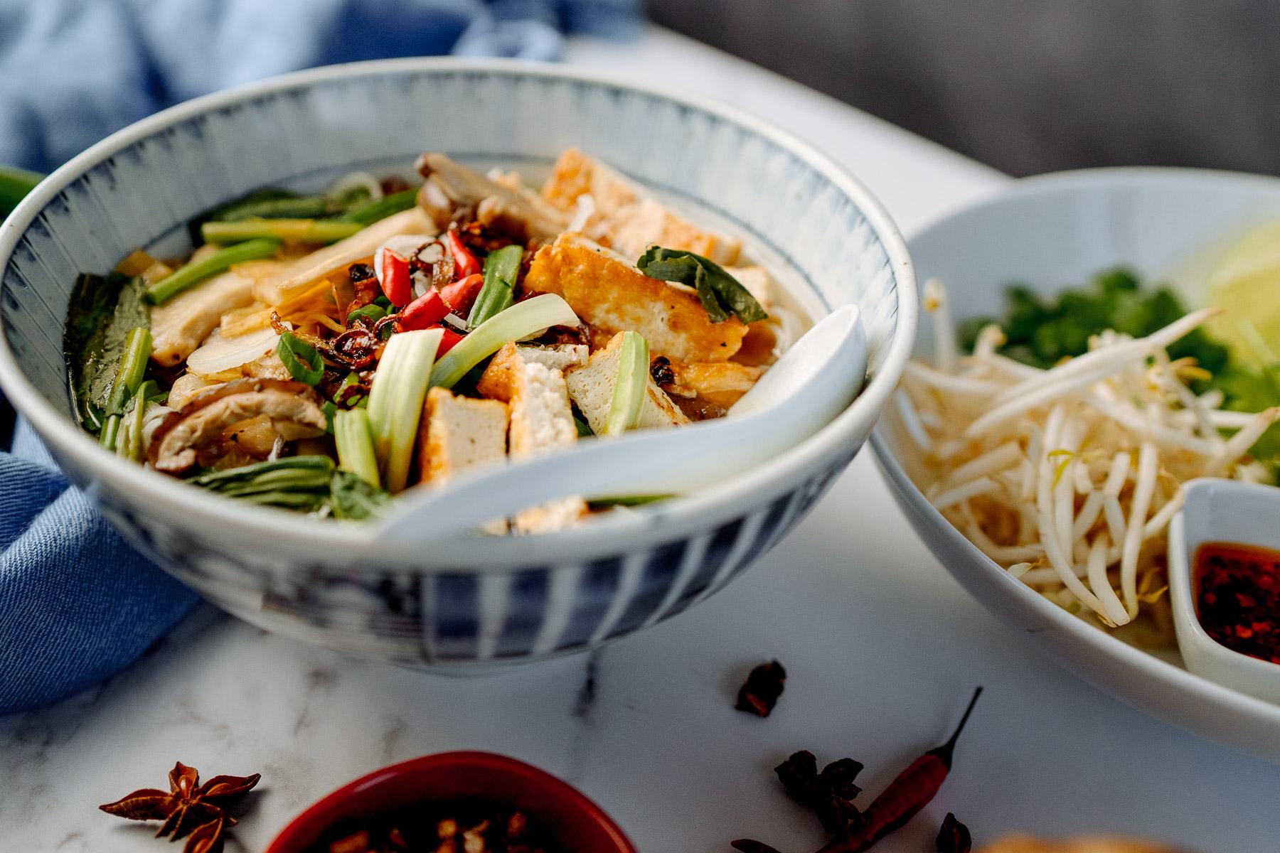 Veggie Pho - Vietnamese cookery school